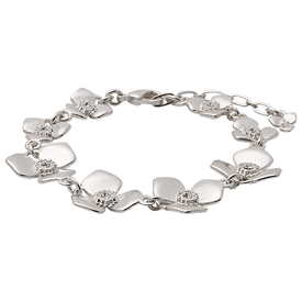 Pilgrim Pure Bliss Bracelet Silver Plated 19151-6002