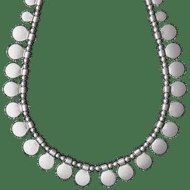 Pilgrim Necklace Silver Plated 38cm 60151-6041