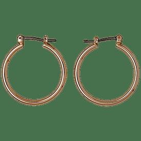 Pilgrim Hoop Earrings Rose Gold Plated 601534003