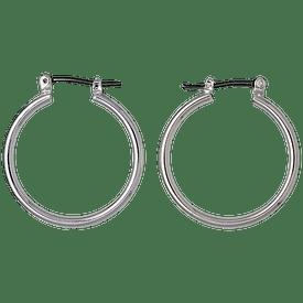 Pilgrim Hoop Earrings Silver Plated 601536003