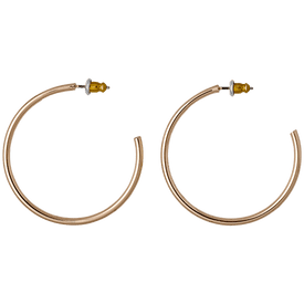Pilgrim Hoop Earrings Rose Gold Plated 601514023