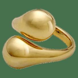 Pilgrim Mindfullness Ring Gold Plated 601412004