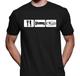 Eat Sleep SUBIE Shirt - Black American Apparel