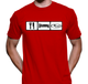 Eat Sleep SUBIE Shirt - Red American Apparel