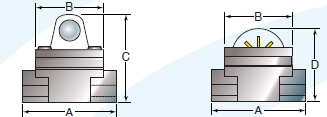 Labeled dimensions SFI Series
