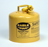EAGLE 5 GAL YELLOW (DIESEL) TYPE 1 SAFETY CAN - UI50-SY