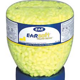 E-A-R SOFT YELLOW NEON EAR PLUGS - 500/PAIR REFILL - 391-1004