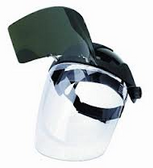 SELLSTROM MULTI-PURPOSE FACE SHIELD FLIP UP SHADE 5 WITH CLEAR VISOR UNDER 32151 - CLEARANCE SALE