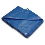 12 X 16 LAMINATED WATERPROOF BLUE POLY TARP - 1216