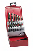 ITM 15 PIECE BLACK OXIDE JOBBER DRILL BIT SET - SP-15