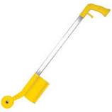 Aervoe #245 Marking Stick Applicator  The Aervoe #245 Marking Stick Applicator is a simple, hand held, rolling inverted marking paint applicator. Includes a flag holder and flag insert spike. Simply remove the wheel and insert the spike for quick flag placement.
