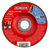 "DBD045063701F DIABLO 4‑1/2"" Metal Cut Off Disc ‑ Type 27"