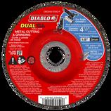 "DBD045125X01FDIABLO 4‑1/2"" Metal Dual Cut & Grind Disc ‑ Type 27"