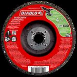 "DBD045250701C DIABLO 4‑1/2"" Masonry Grinding Disc ‑ Type 27 Grinding"