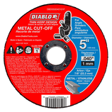 "DBD050040101F DIABLO 5"" Metal Cut Off Disc ‑ Thin Kerf"