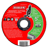 "DBD050063101C  5"" Masonry Cut Off Disc ‑ Type 1"