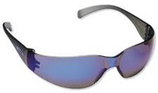 CHECKLIST BLUE MIRROR SAFETY GLASSES