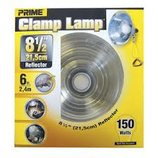 8 1/2 REFLECTOR LAMP 6 FT. CORD 10 AMP 18/2 AWG