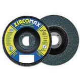 FLEXOVIT 4-1/2 X 7/8 SUPER FLAP DISC 80 GRIT ZIRCOTEX TYPE 27 &29 10/BX Z4542F