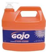 GOJO ORANGE HAND CLEANER W/PUMICE AND PUMP - 0955-04
