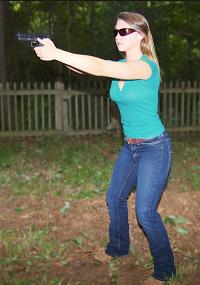 Correct Pistol Stance