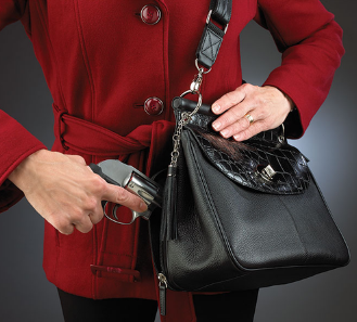 Dowel Top Concealed Carry Purse