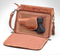 Three sided zipper compartment for concealed carry holster