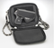 Pocket opens on 3 sides to access small concealed weapon for this concealed carry bag
