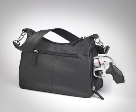 Light weight concealed carry handbag for everyday and evening use