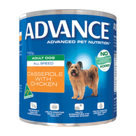 Advance Adult Dog Chicken Casserole Can 700g