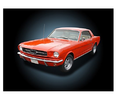 """1965 Ford Mustang"" 12"" x 9"" LED Light Up Canvas"