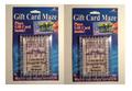 2 Pack - Gift Card Maze - Puzzle Brain Teaser - Fun Challenge Gag Gift Holder