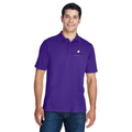Reel Time Men's Pique Polo Shirt