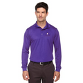 Reel Time Men's Long Sleeve Performance Polo Shirt