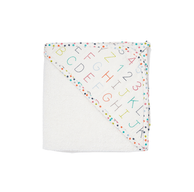 Pehr Alphabet Hooded Towel