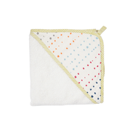 Pehr Painted Dots Hooded Towel