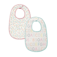 Pehr Alphabet or Multi Dot Bibs