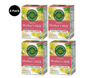 Traditional Medicinals Organic Mother's Milk Herbal Tea, Pack of 4 (16 bags) Exp Feb 2023