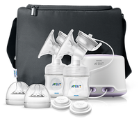 Philips Avent - NEW Comfort Twin Electric Breast Pump With 2 Years Warranty (SCF334/31 )
