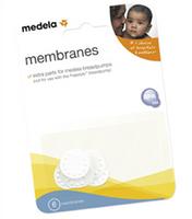 Medela - Membranes, 6 Counts