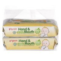 Pigeon - Wet Tissues, Hand and Mouth 2in1, 60s (26355)