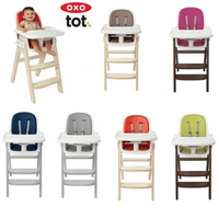OXO Tot Sprout Chair with Tray Cover (4 colours)