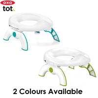 OXO Tot 2in1 Go Potty for Travel, 2 Colours (Free 10pcs replacement bags)