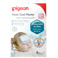 Pigeon - Fever Cool Plaster, 6 Count (15841)