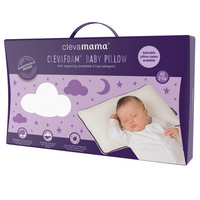 Clevamama ClevaFoam Baby Pillow, 3102 (New 2019 fresh)