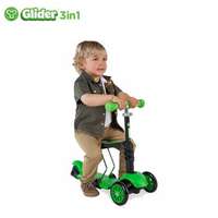YVolution - Glider 3 in 1, Green