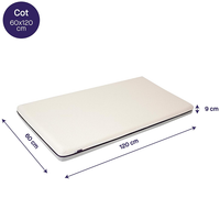Clevamama ClevaFoam Support Mattress, Increased Airflow 60x120 (3113)