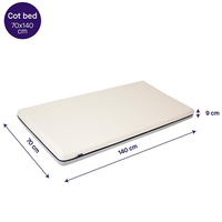 Clevamama ClevaFoam Support Mattress, Increased Airflow 70x140 (3114)