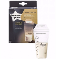 Tommee Tippee Milk Storage Bags 350ml, 36 Bags (Buy 1 get 1 FREE)