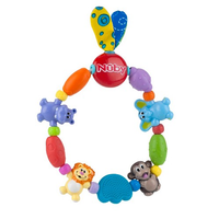 Nuby - Safari Friends Teether